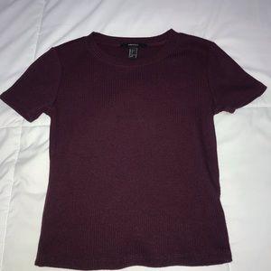 basic purple top